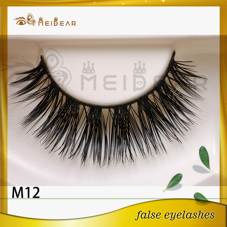 Private label custom package mink eyelashes