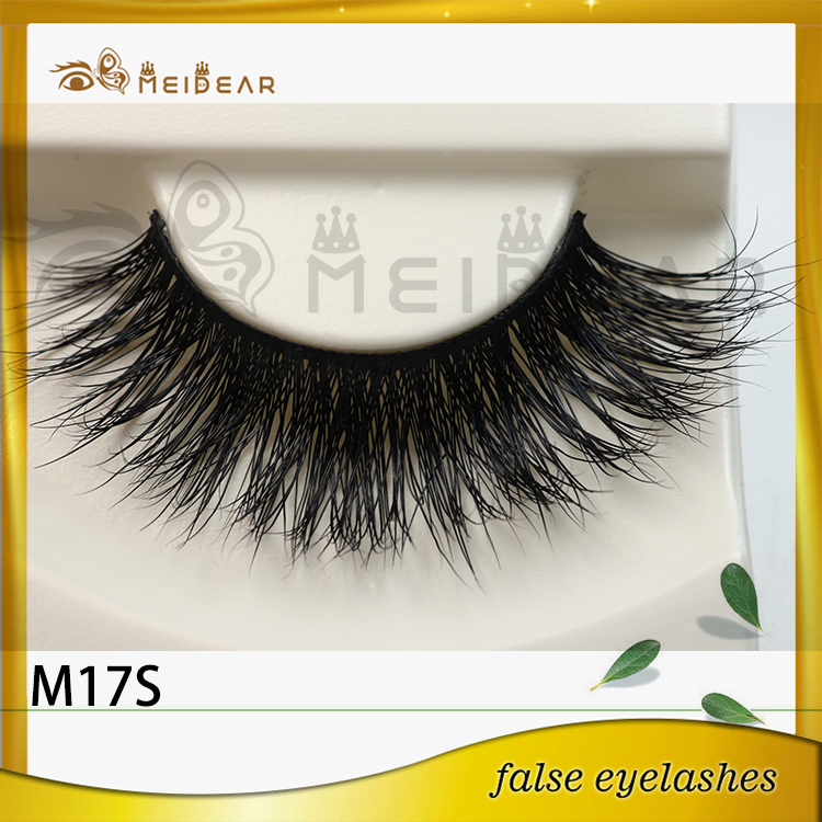Private label hand made mink false eyelashes manufacturer indonesia