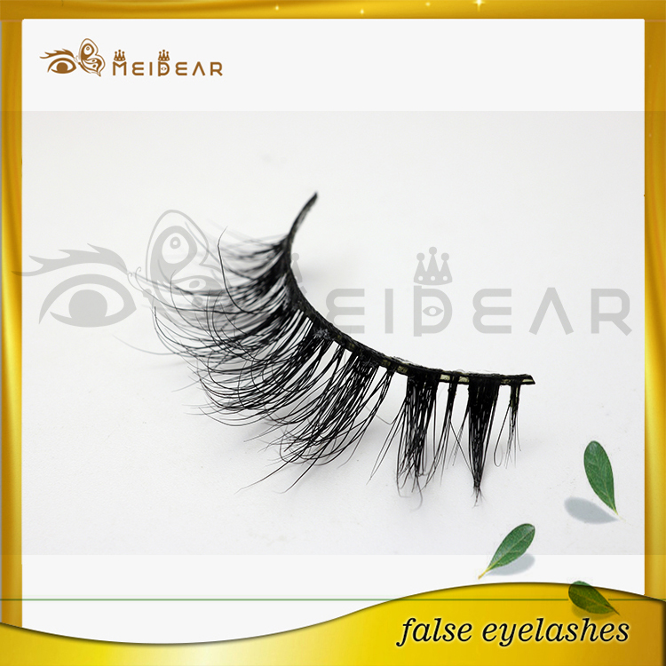 Factory supply  custom package private label 3d mink eyelashes