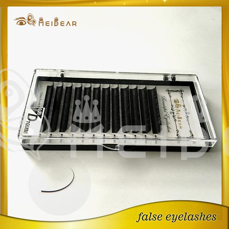 Factory supply private label eye lashes eyelash extension