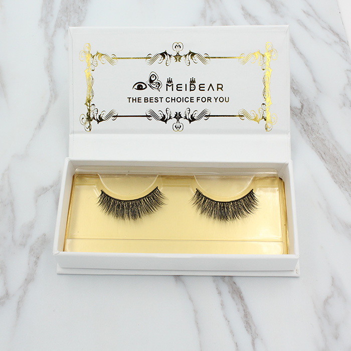 Private label mink fur lashes own brand eyelashes in Qingdao