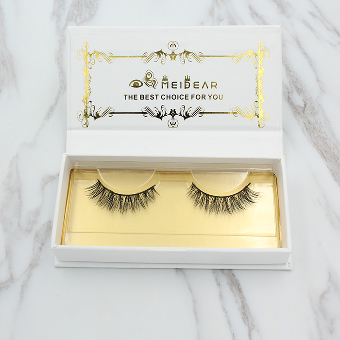 Private label Custom Eyelash Packaging Real mink fur lashes