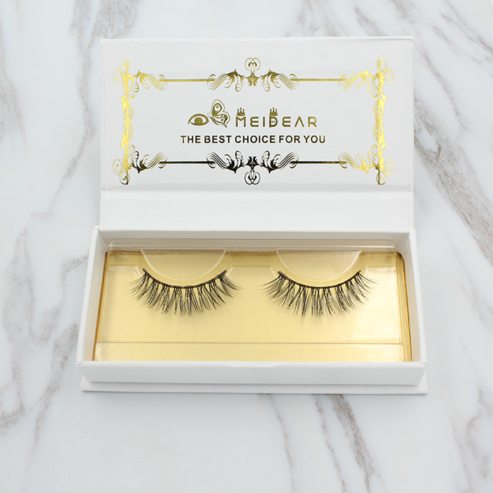 Private label 100% real mink fur lashes
