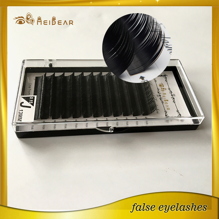 Individual eyelash extension from China provide OEM service and private label