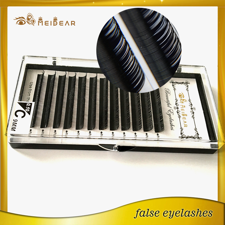Custom box individual mink eyelashes extension with wholesale price Germany