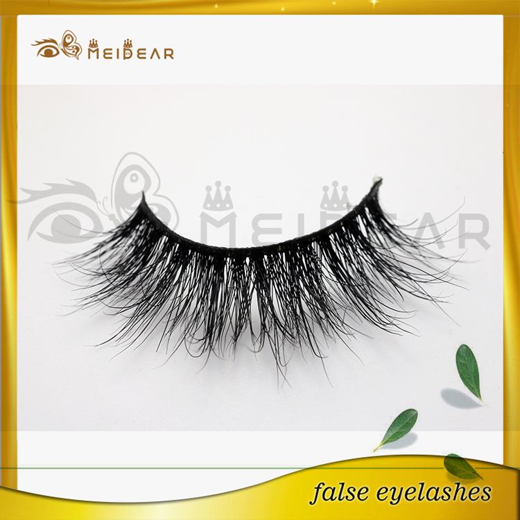 Customize real long and thick mink eyelashes 3d mink lashes