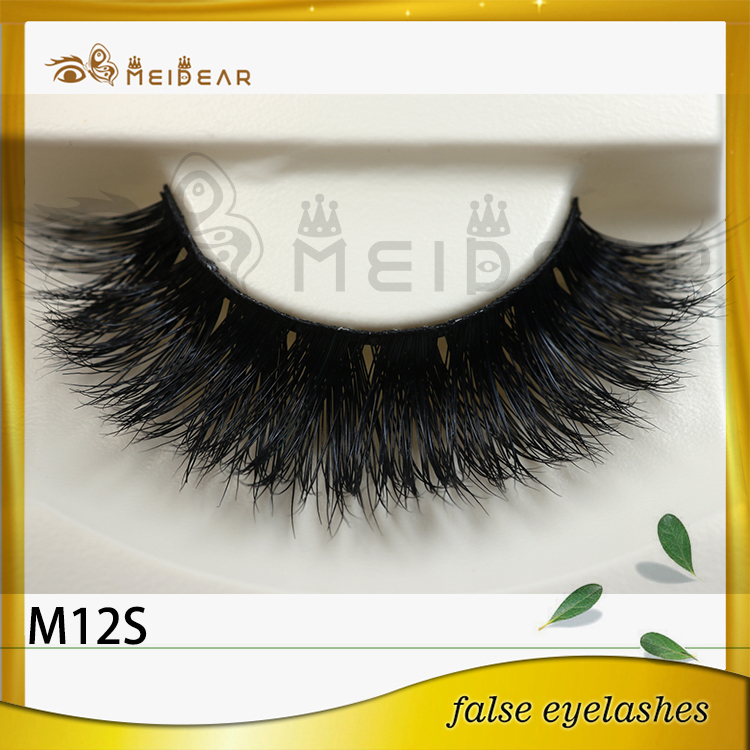 Private label custom package with siberian mink eyelashes