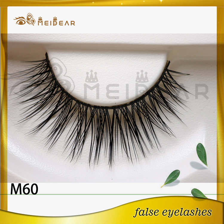 Factory supply private label mink eye lashes