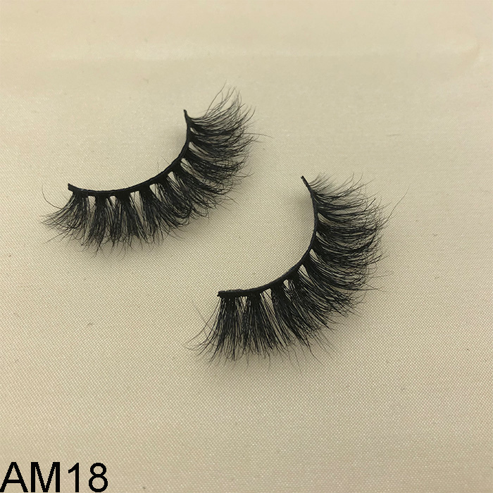 Factory wholesale private label 3D faux mink false eyelashes with own brand box