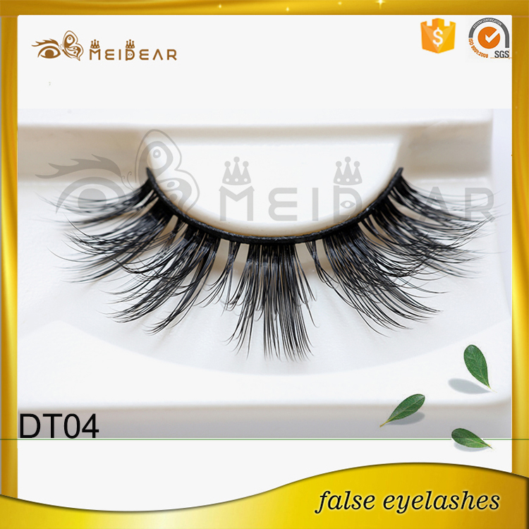 Best quality faux mink eyelash with customized box wholesaler supply