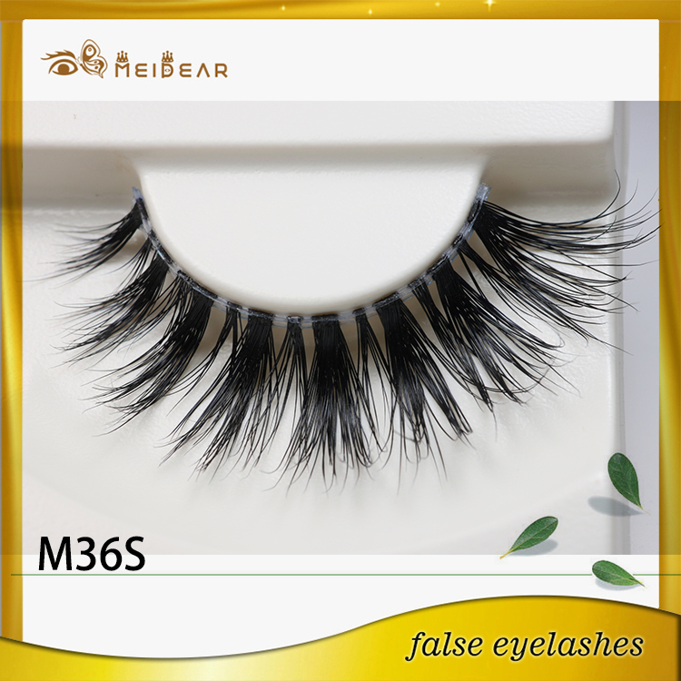 Wholesale charming and lovely mink lashes with package design