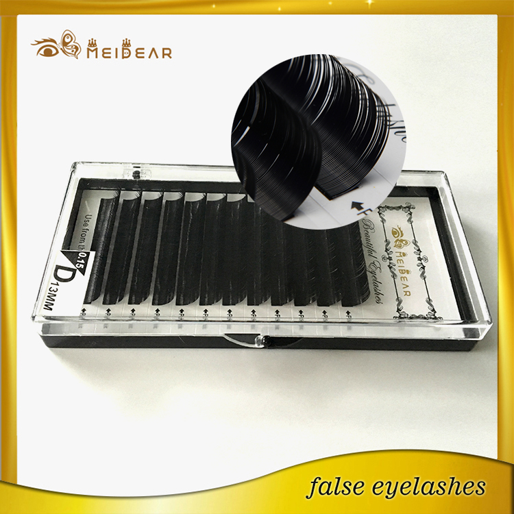 High quality and long-lasting Korean PBT fiber eyelash extension