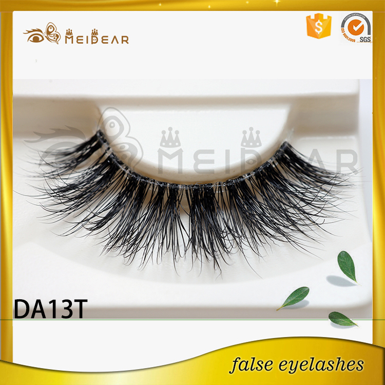 3D double layered mink lashes wholeslae eye lash own brand eyelash