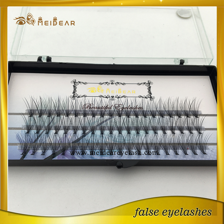 Factory supply private label silk  pre-fanned volume eyelash extension