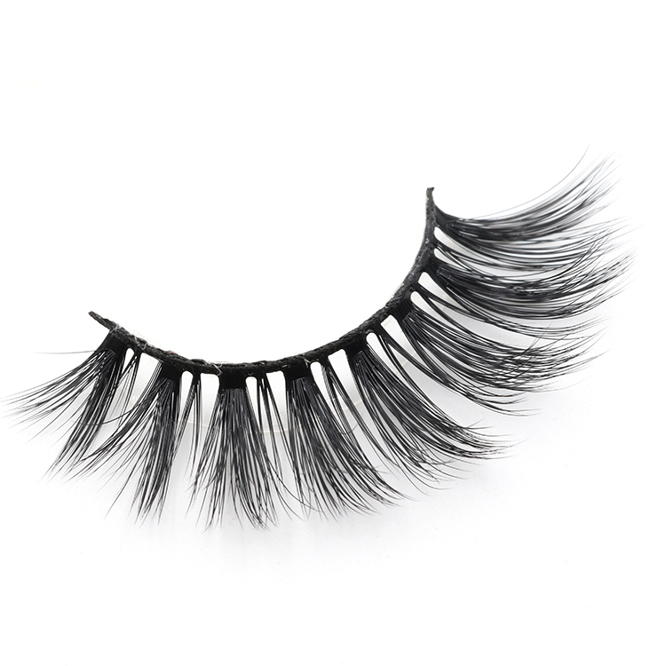 High quality 3D faux mink eyelashes with own brand packaging box to UK