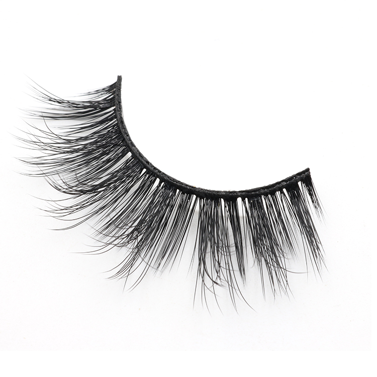 2018 best selling 3d faux mink eyelash with private label packaging to USA