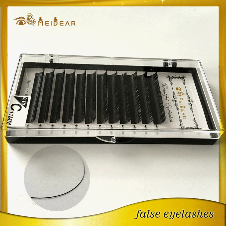 Customized box for waterproof real mink eyelashes extension USA