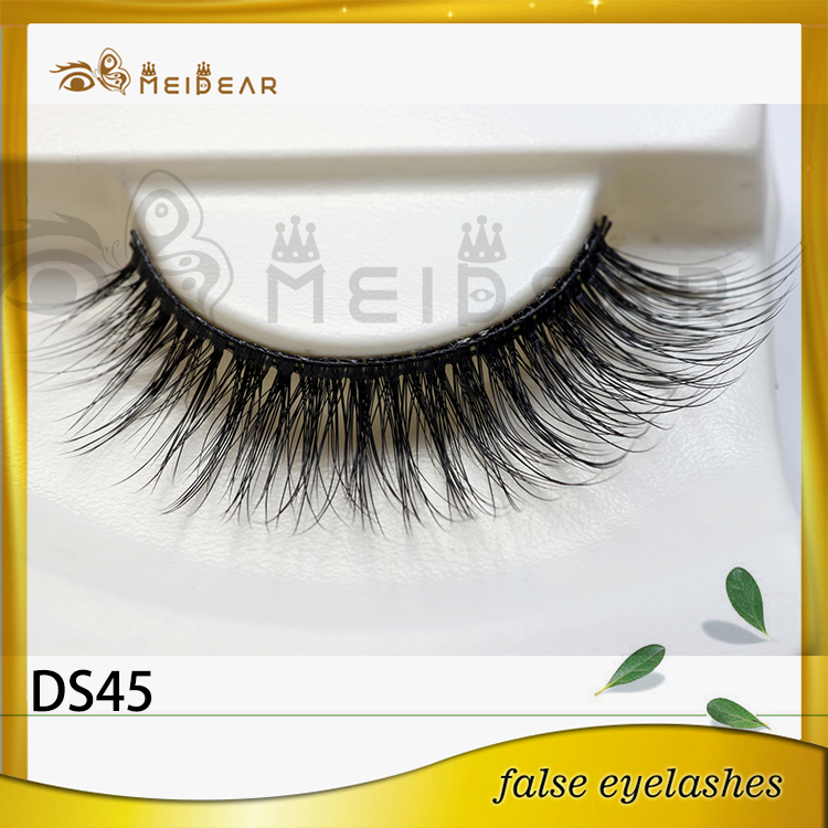 Hot selling private label 3d silk eyelashes with custom boxes