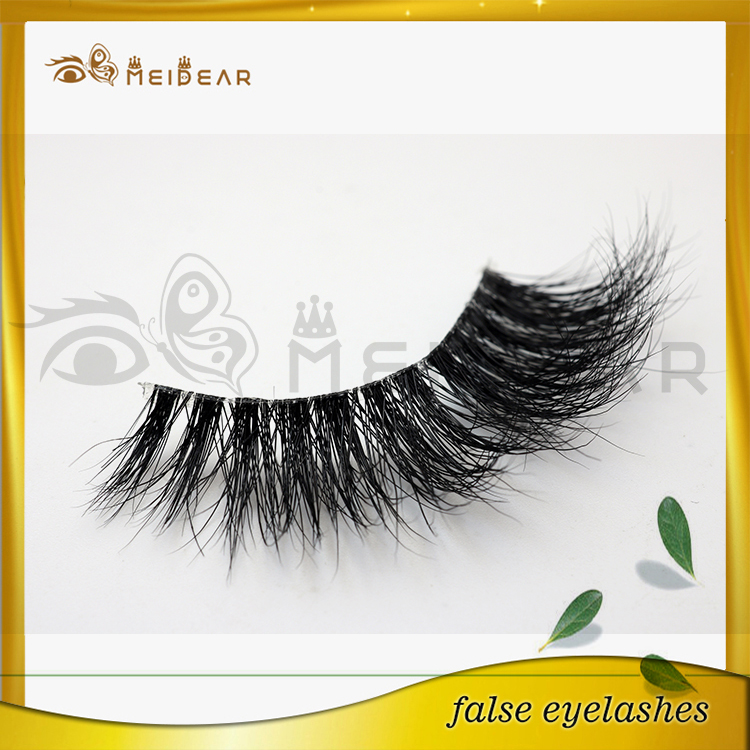 Manufacture own brand 3d mink eyelashes in beautiful packaging