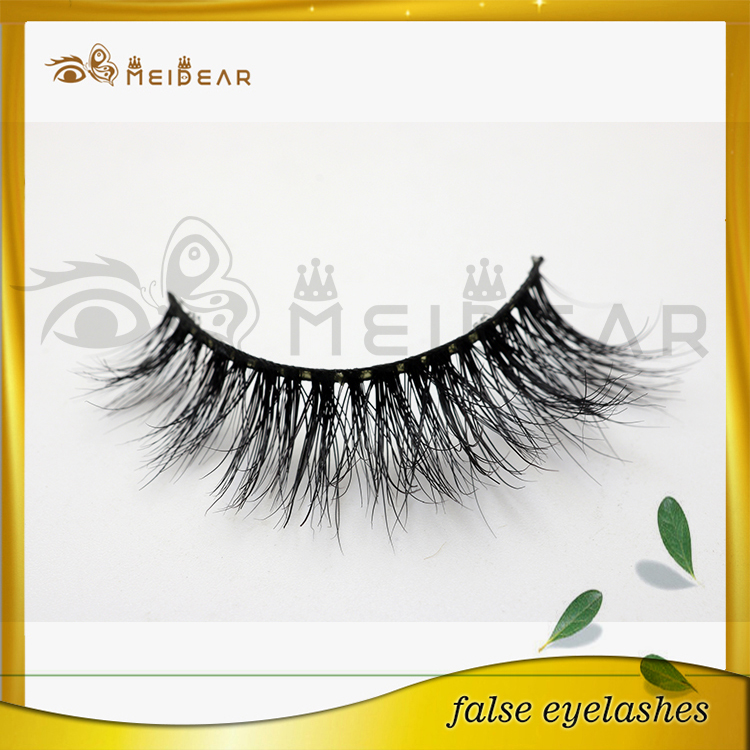 Charming custom package real siberian mink lashes from China