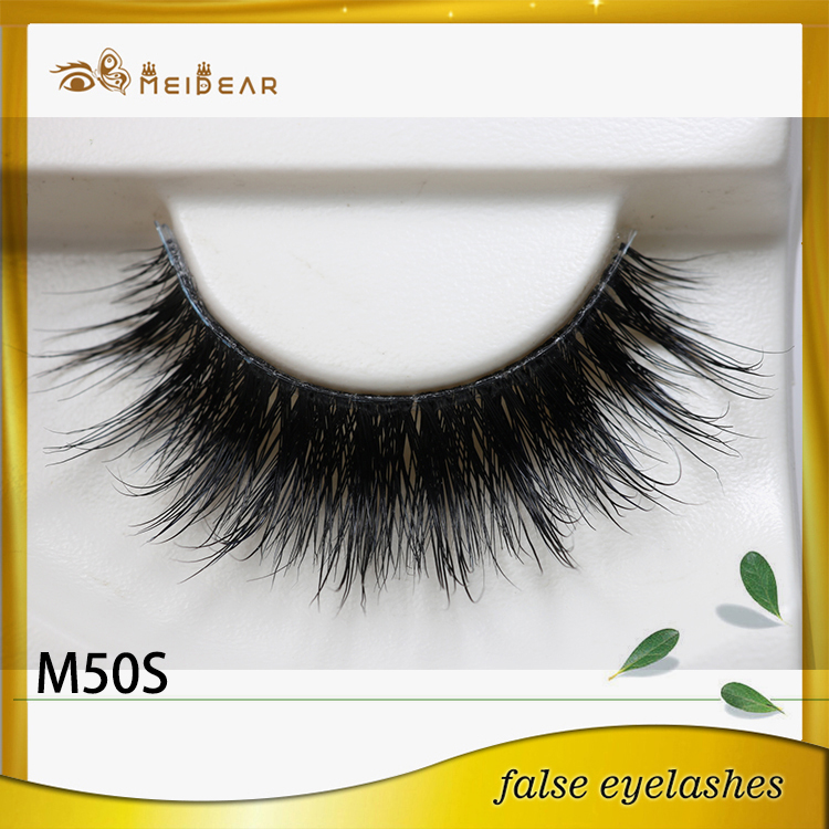 Factory supply private package lovely real mink lashes