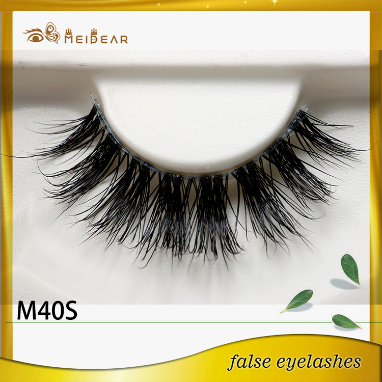 Wholesale custom packaging premium mink lashes with lower  price