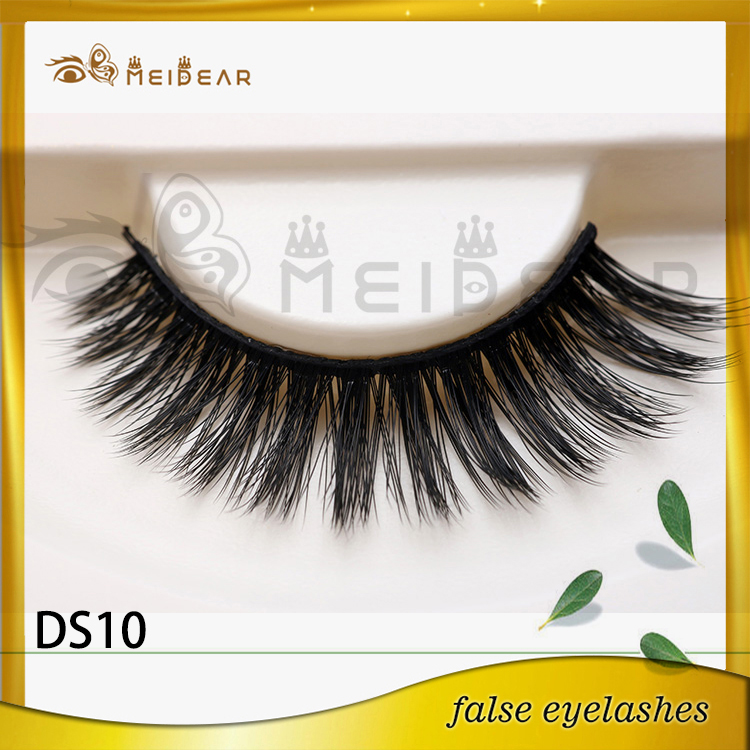 Factory wholesale OEM private label 3D silk eye lashes