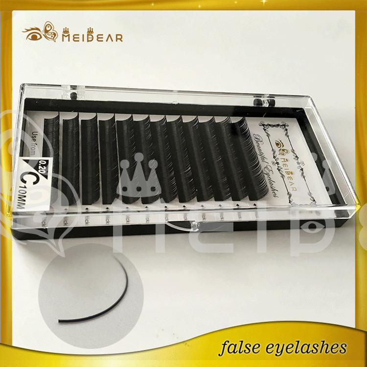 Lash extension Korea PBT material