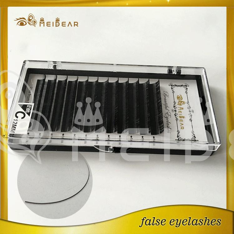 Factory supply eyelash extensions with custom package and private label