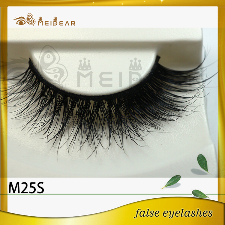 Factory supply OEM private label mink eyelashes from Qingdao