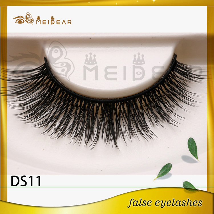 OEM service private label synthetic 3d silk eyelash