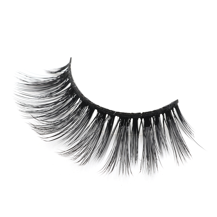 Lashes wholesaler provide fluffy 3d faux mink strip eyelash to USA