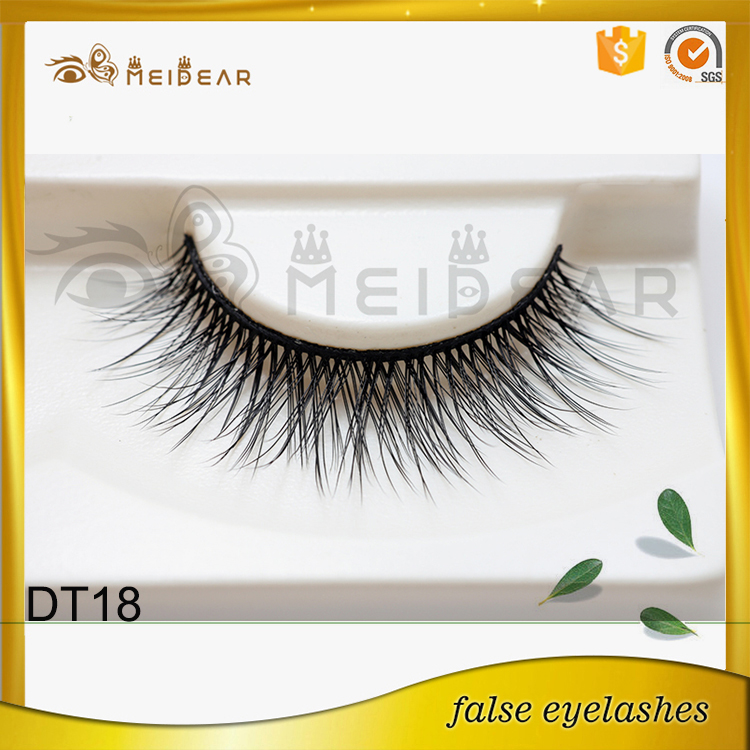 Most popular best selling high quality faux mink eyelash with wholesale price