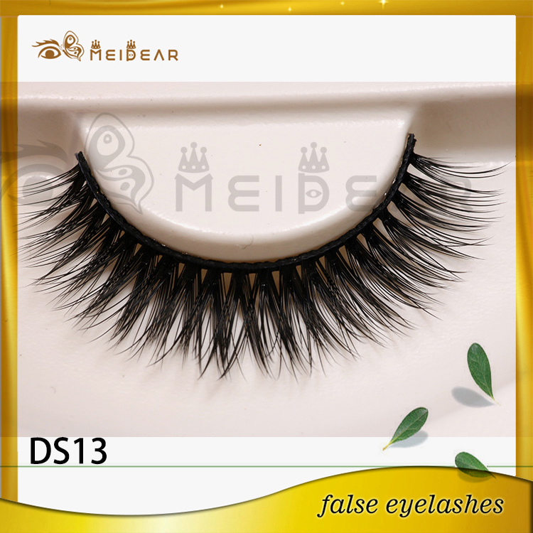 New arrival own brand vegan 3d silk eyelash