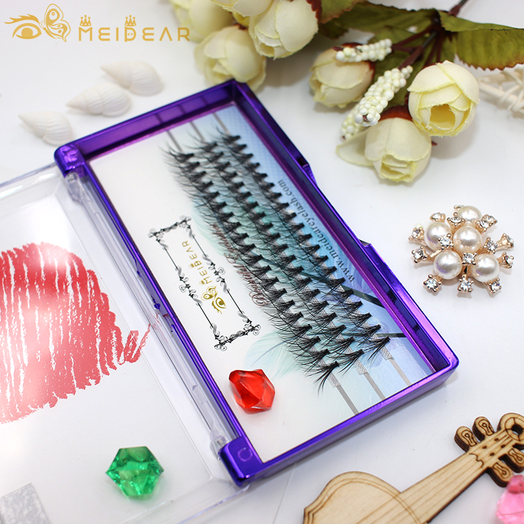 Hot selling private label feathery-soft  volume eyelash extension with wholesale price