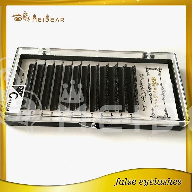Meidear supply high quality eye lashes extensions OEM service