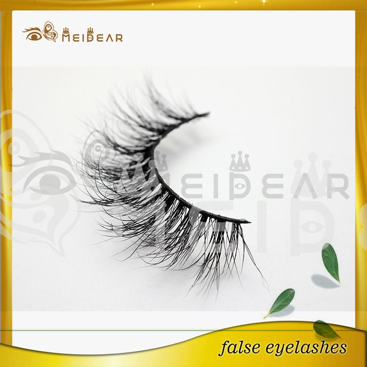 Wholesale Siberian 3D mink lashes with custom package