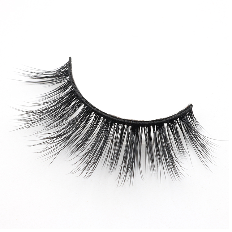 Distributor provice dramatic false eyelash 3D faux mink lashes with private label