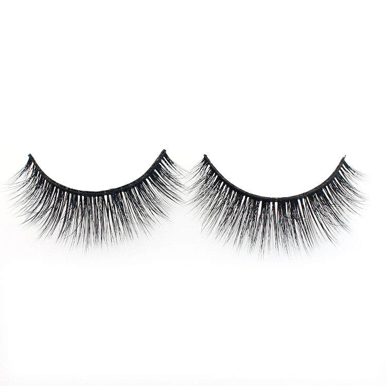 Eyelash manufacturer wholesale private label 3D faux mink false eyelashes with custom brand