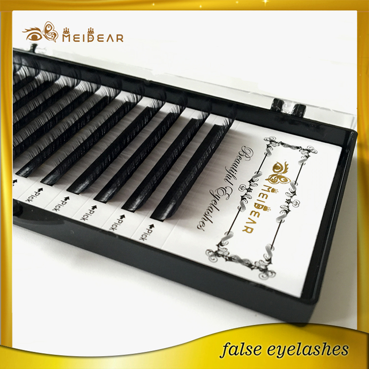 Meidear supply high quality individual mink eye lashes extension OEM service