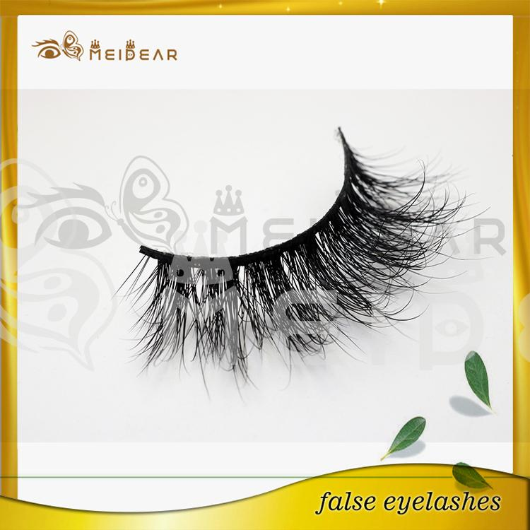 Private Label Natural Looking 3D Mink Fur Eye Lashes