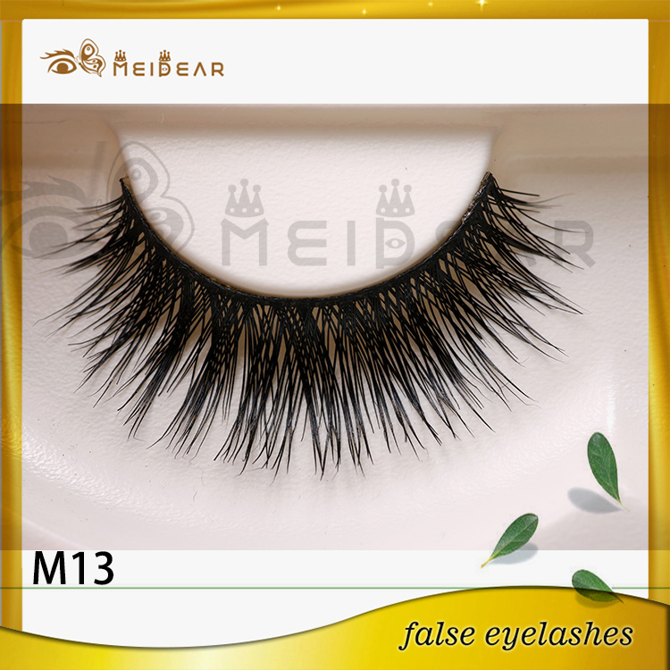 Factory wholesale OEM private label mink eyelashes hot selling