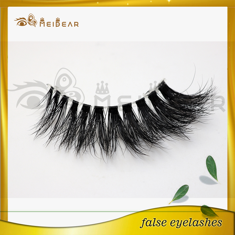 Distribute hot selling natural 3d mink eyelashes