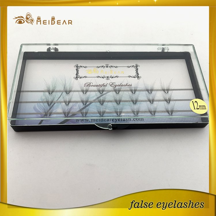 Factory wholesale OEM private label 2D-10D pre-fanned volume lash extension