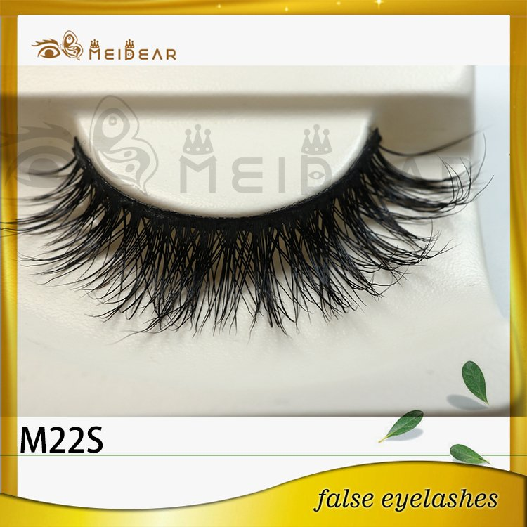 Factory supply siberian mink lashes with custom packaging