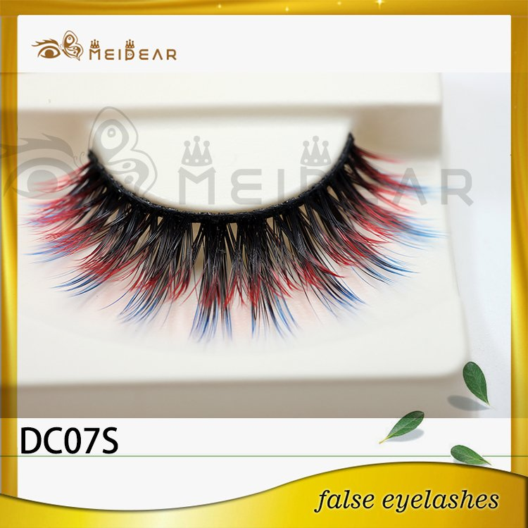 False eyelash factory supply real natural looking faux mink eyelashes service
