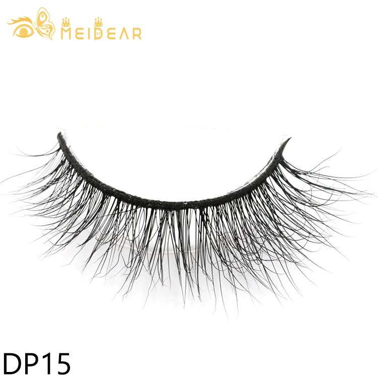 False real mink eyelashes with private label packages OEM ODM