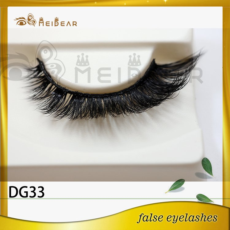 Manufacture own brand 3d faux mink eyelashes in beautiful packaging