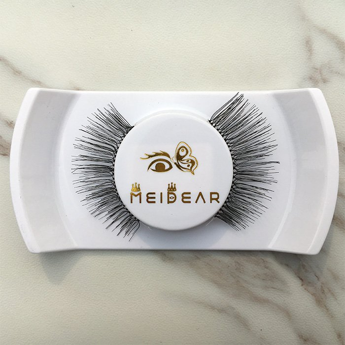 Real hair eyelashes
